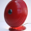 1950s Red Desk Lamp by Helo 4