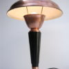 Art Deco Copper & Bakelite Table Lamp by Eileen Gray for Jumo France 1