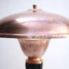 Art Deco Copper & Bakelite Table Lamp by Eileen Gray for Jumo France 2