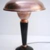 Art Deco Copper & Bakelite Table Lamp by Eileen Gray for Jumo France 3