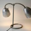 1950s Double Desk Lamp by Helo