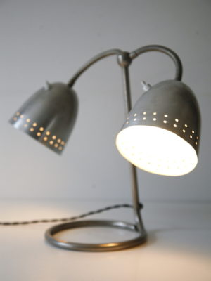 1950s Double Desk Lamp by Helo 6