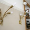1950s Triple Wall Lights by Maison Lunel 1
