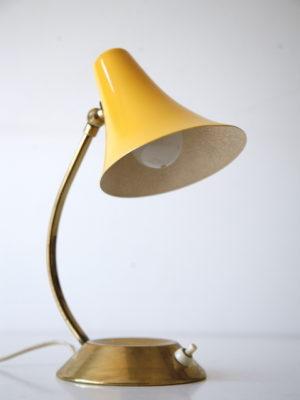 1950s Yellow Lamp