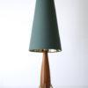 1960s Teak Tripod Lamp 4