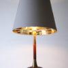 Teak Brass 1960s Table Lamp 1