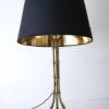Vintage Maison Bagues Gilt Metal Tripod Lamp 1