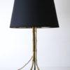 Vintage Maison Bagues Gilt Metal Tripod Lamp 2