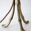 Vintage Maison Bagues Gilt Metal Tripod Lamp 3