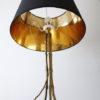 Vintage Maison Bagues Gilt Metal Tripod Lamp 5