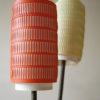 1950s Double Orange Yellow Floor Lamp 2