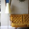 1950s Floor Lamp Cream Shade 3