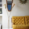 1950s Floor Lamp with Ceramic Base 3
