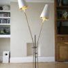 1950s French Double Floor Lamp 1
