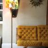 1950s Oak Triple Floor Lamp 5