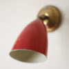 1950s Red Wall Light 4