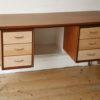 1950s Teak & Beech Desk 6