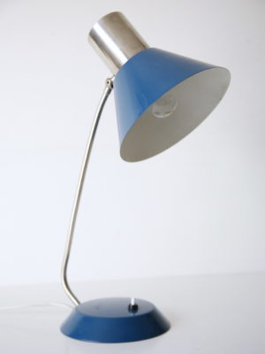 1960s Blue Desk Lamp 1