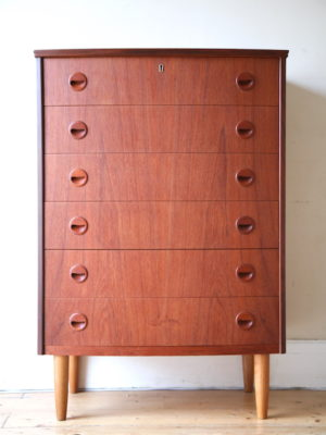 1960s Danish Chest of Drawers