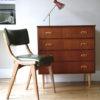 1960s Danish Teak & Walnut Chest of Drawers 3