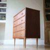 1960s Danish Teak & Walnut Chest of Drawers 4