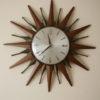 1960s Sunburst Clock