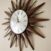 1960s Sunburst Clock 2