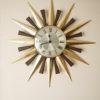 1960s Sunburst Metamec Clock 1
