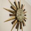 1960s Sunburst Metamec Clock 2