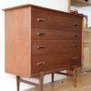 1960s Teak Chest of Drawers by Younger 4