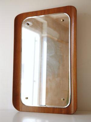 1960s Teak Mirror