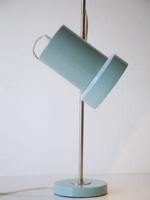 1960s Turquoise Desk Lamp 1