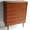 1960s Danish Teak Chest of Drawers 2