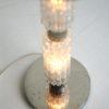 1960s Glass Floor Lamp Blue Shade 4