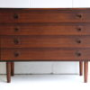 1960s Rosewood Chest of Drawers 5