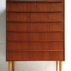 1960s Teak Chest of Drawers 1