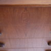 1960s Teak Walnut Chest of Drawers 3