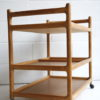 Danish Oak Serving Trolley Johannes Andersen for Silkeborg 2