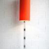 Large 1960s Orange Floor Lamp 1