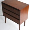 Small 1960s Teak Chest of Drawers 1