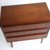Small 1960s Teak Chest of Drawers 4