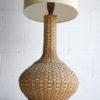 Vintage Wicker Floor Lamp 3