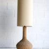 Vintage Wicker Floor Lamp 7