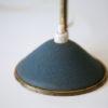 1950s Blue Brass Desk Lamp 2
