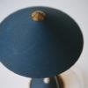 1950s Blue Brass Desk Lamp 4