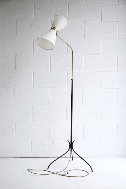 1950s French Diablo Floor Lamp 5