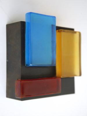 Modernist Glass Wall Light 1