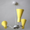 Vintage 1950s Hiscock And Appleby Ceiling Light 2