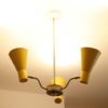 Vintage 1950s Hiscock And Appleby Ceiling Light 3