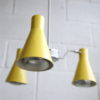 Vintage 1950s Hiscock And Appleby Ceiling Light 5